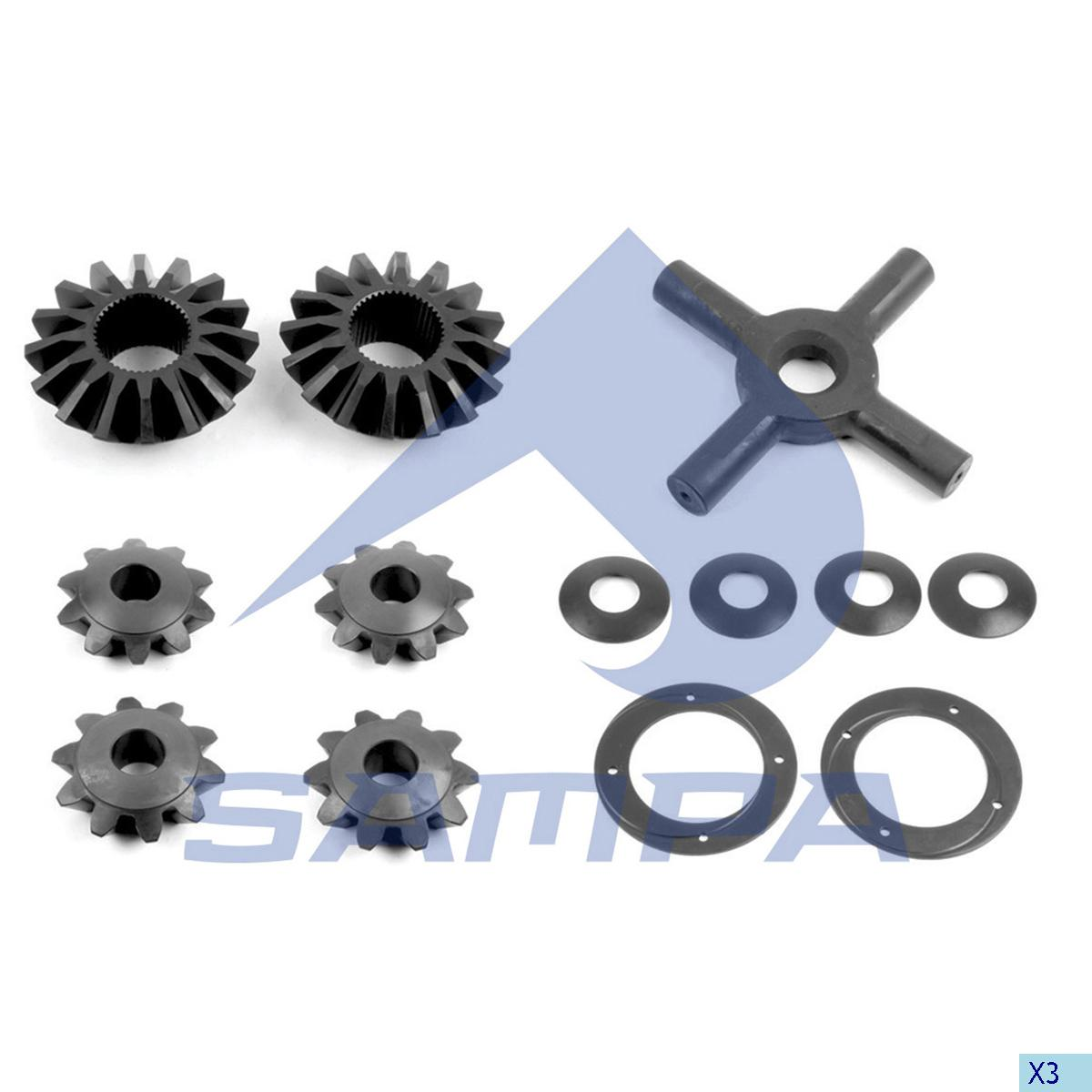 Repair Kit, Differential, Daf, Power Unit