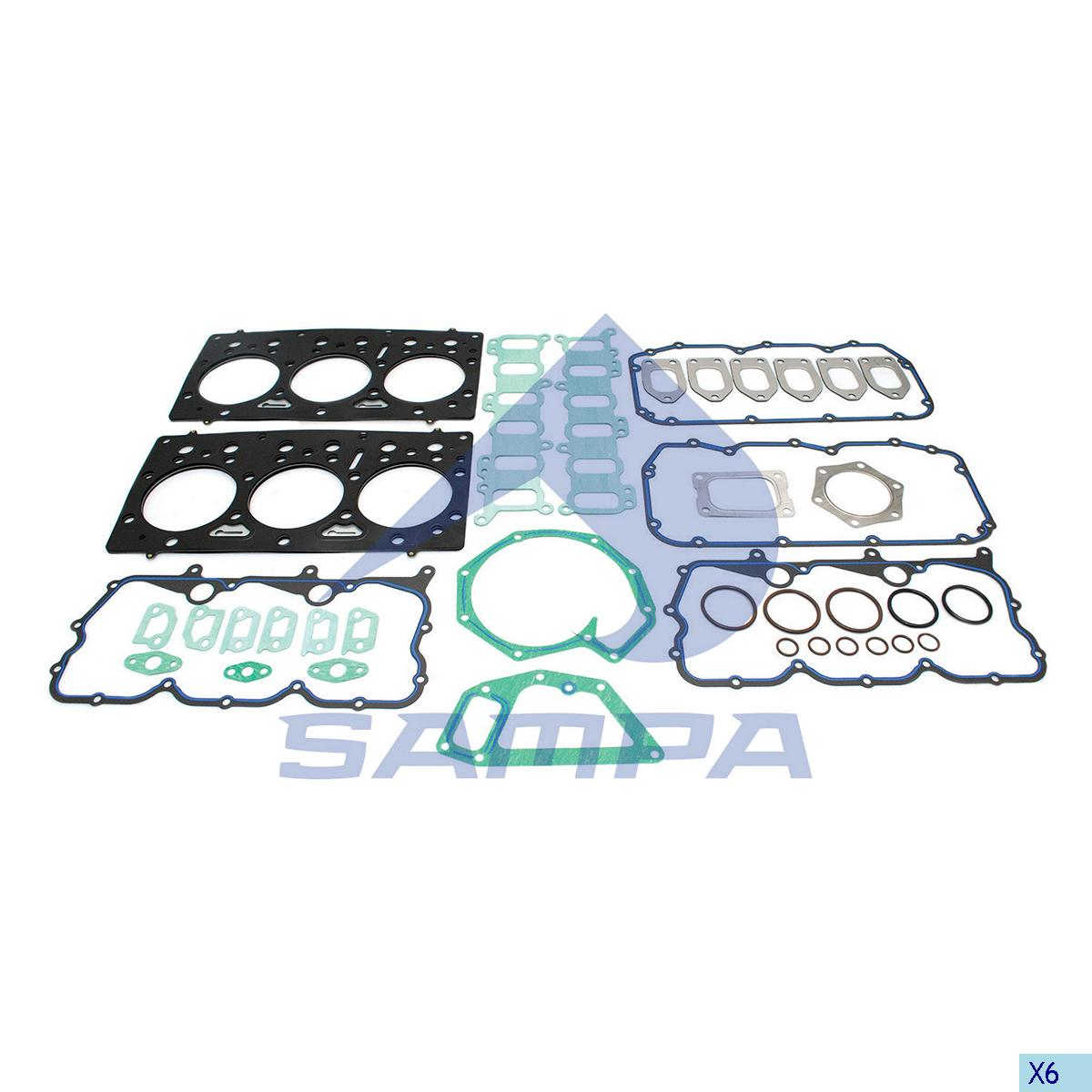 Gasket Kit, Cylinder Head, Daf, Engine