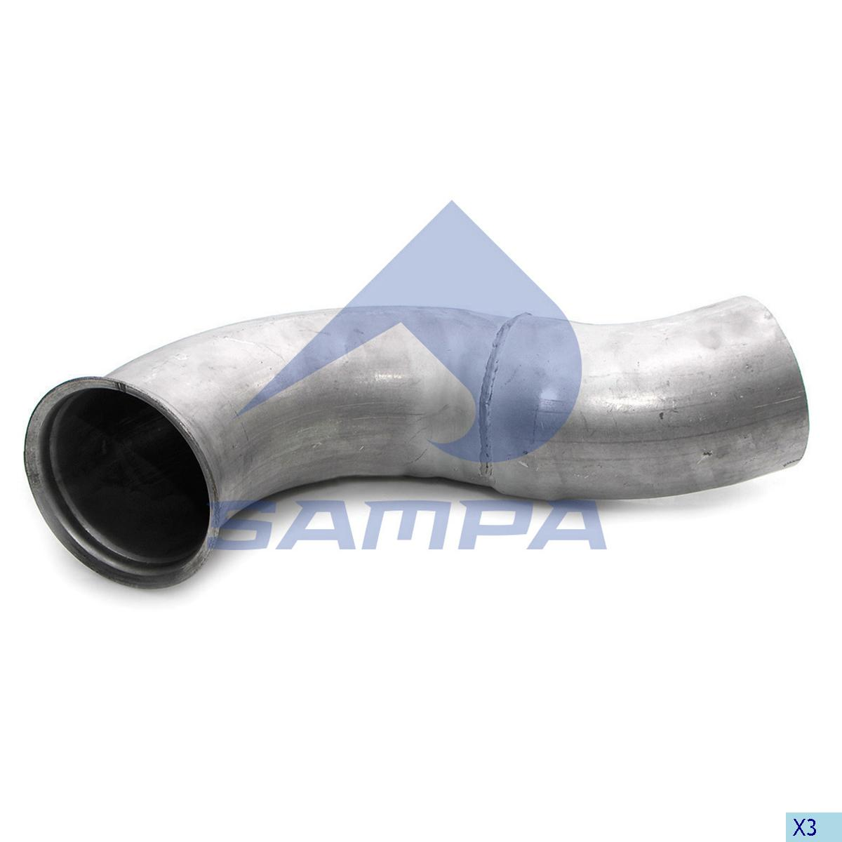 Pipe, Exhaust, Daf, Engine
