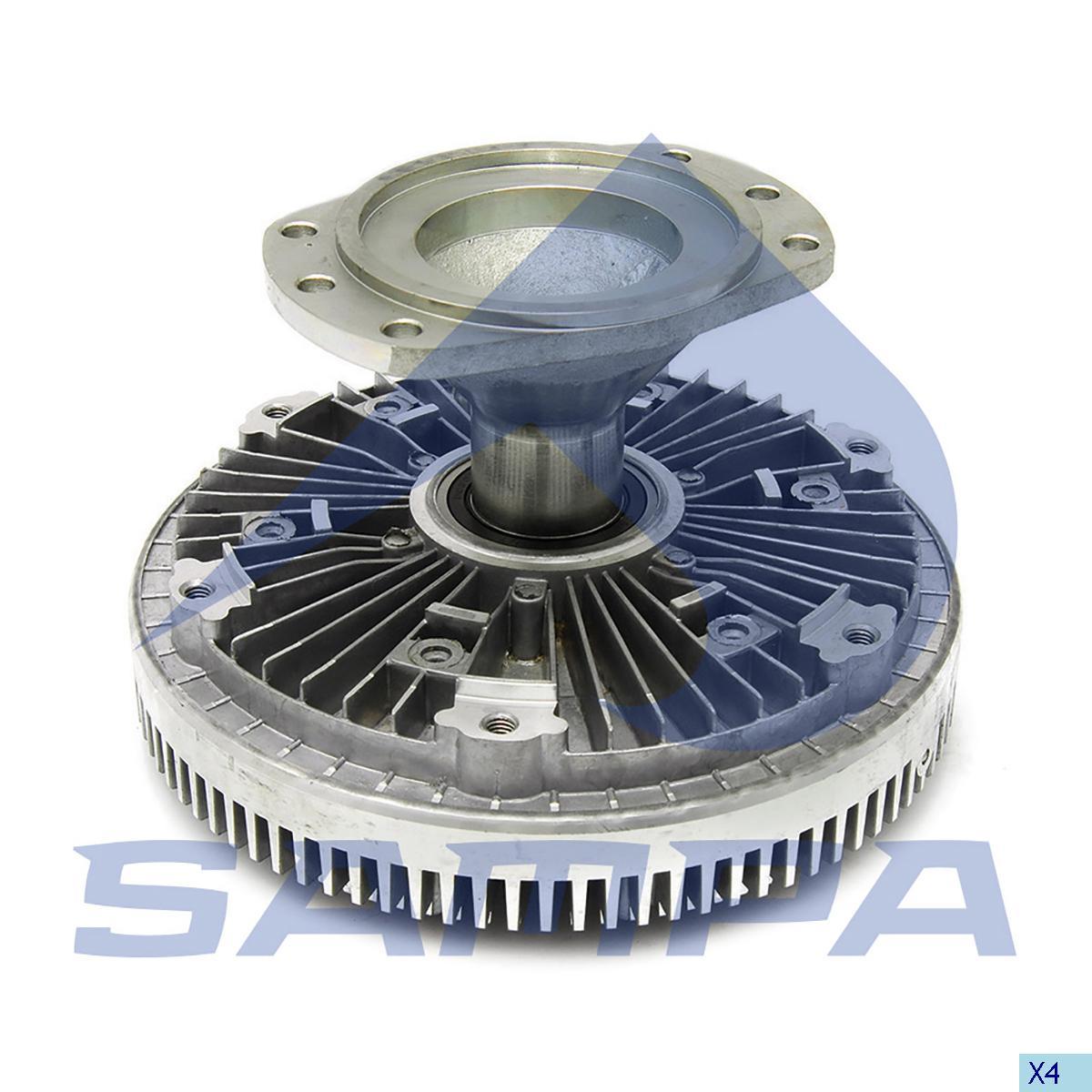 Visco Drive, Fan, Daf, Engine