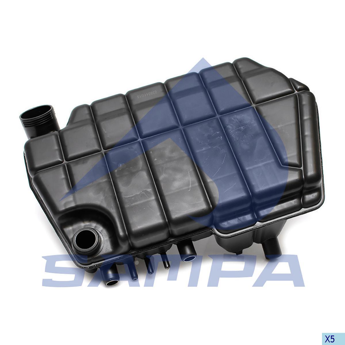 Expansion Tank, Radiator, Daf, Engine