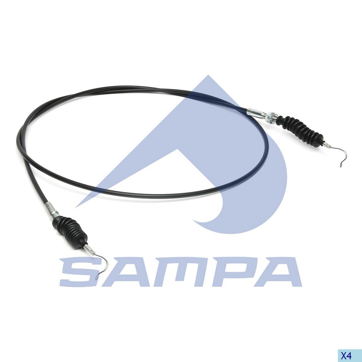 Accelerator Wire, Daf, Engine