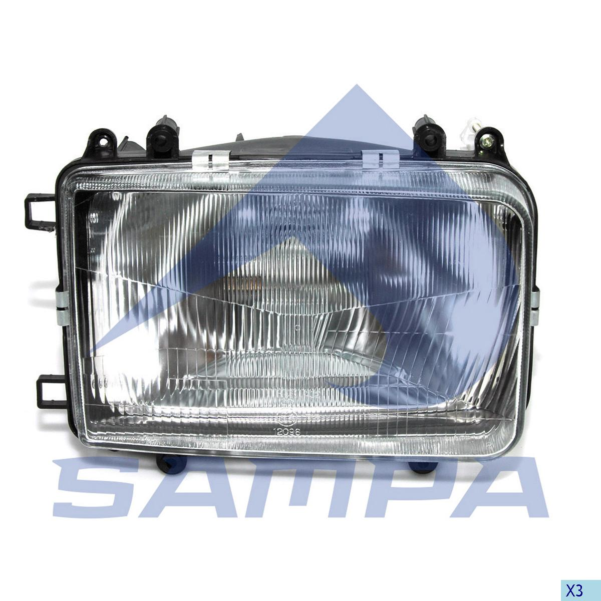 Head Lamp, Daf, Electric System