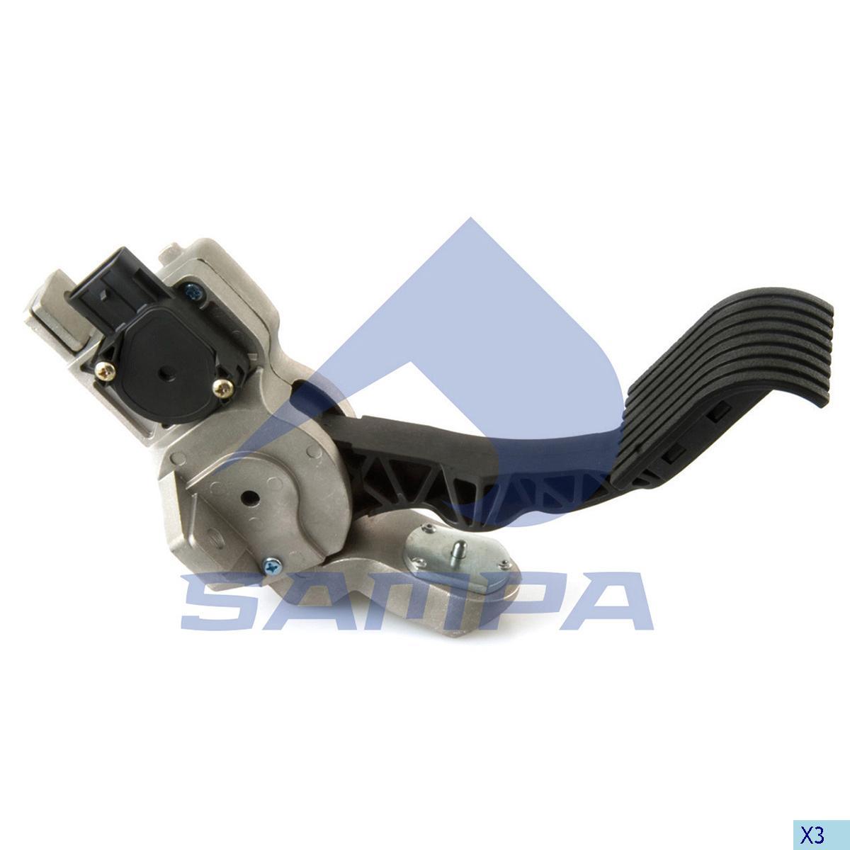 Accelerator Pedal, Daf, Engine