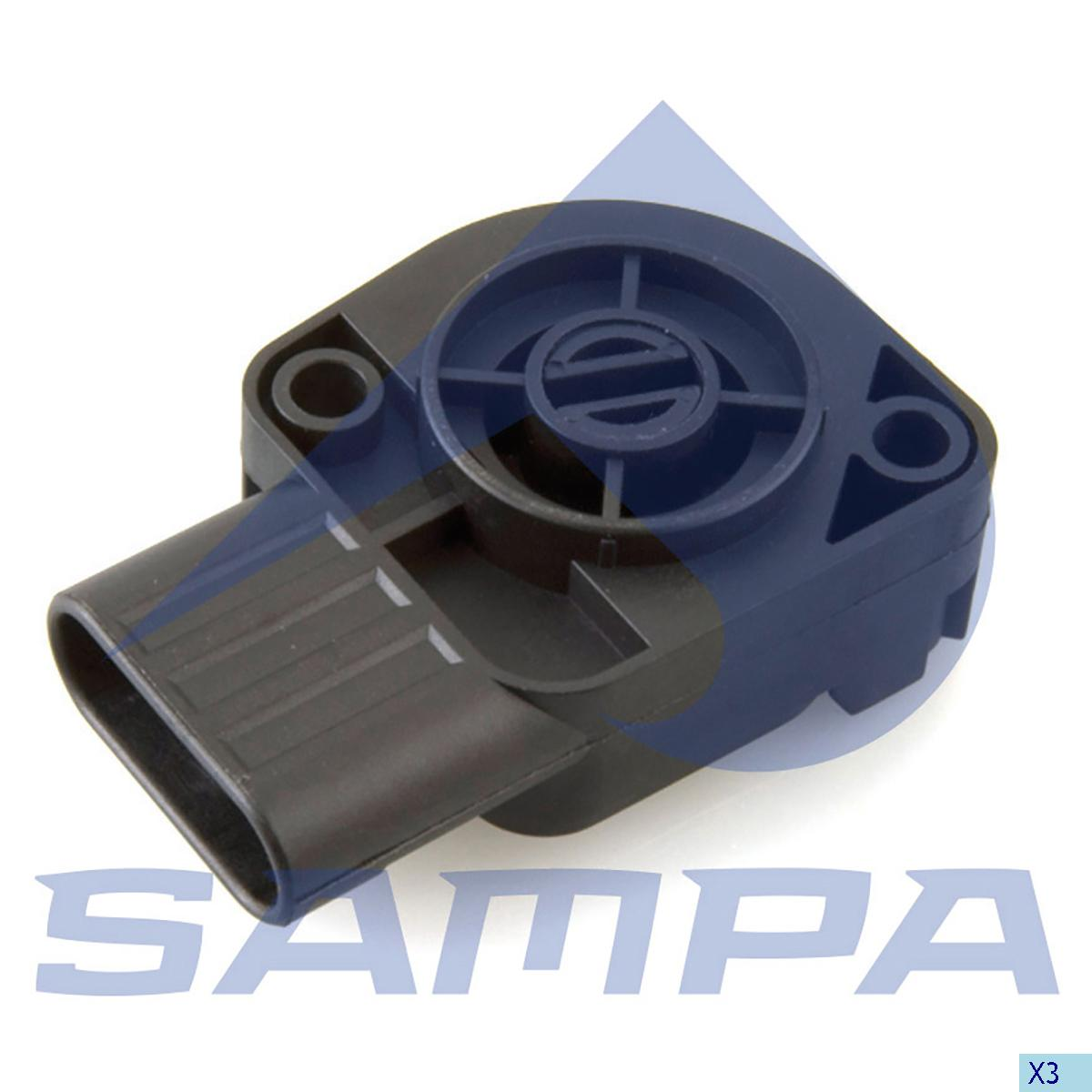 Sensor, Accelerator Pedal, Daf, Engine