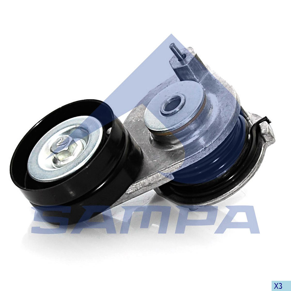 Belt Tensioner, Fan, Daf, Engine