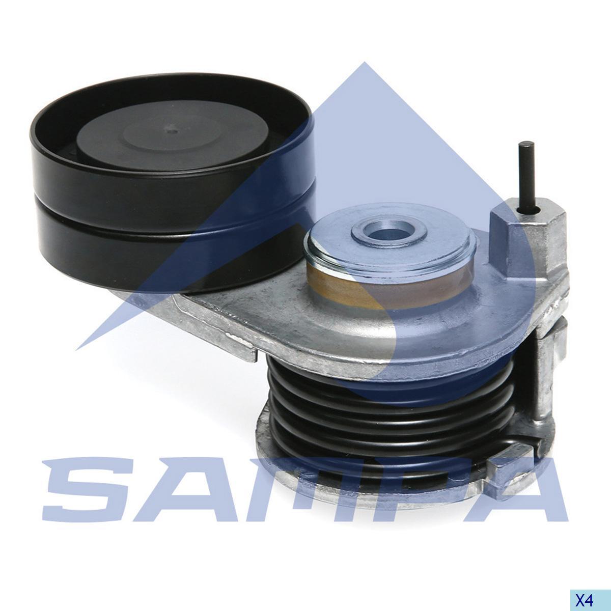 Belt Tensioner, Fan, Daf, Engine