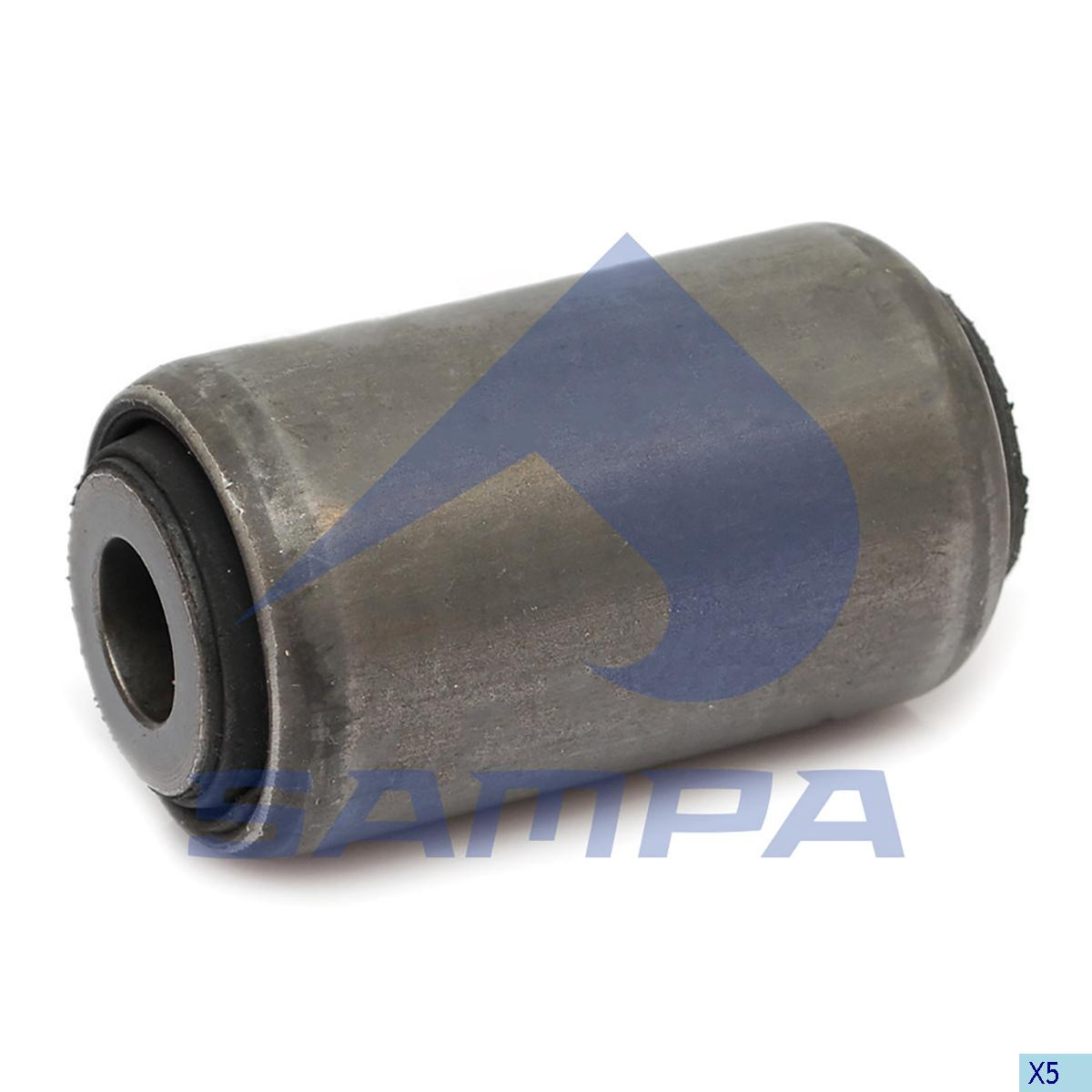 Rubber Bushing, Spring, Daf, Suspension