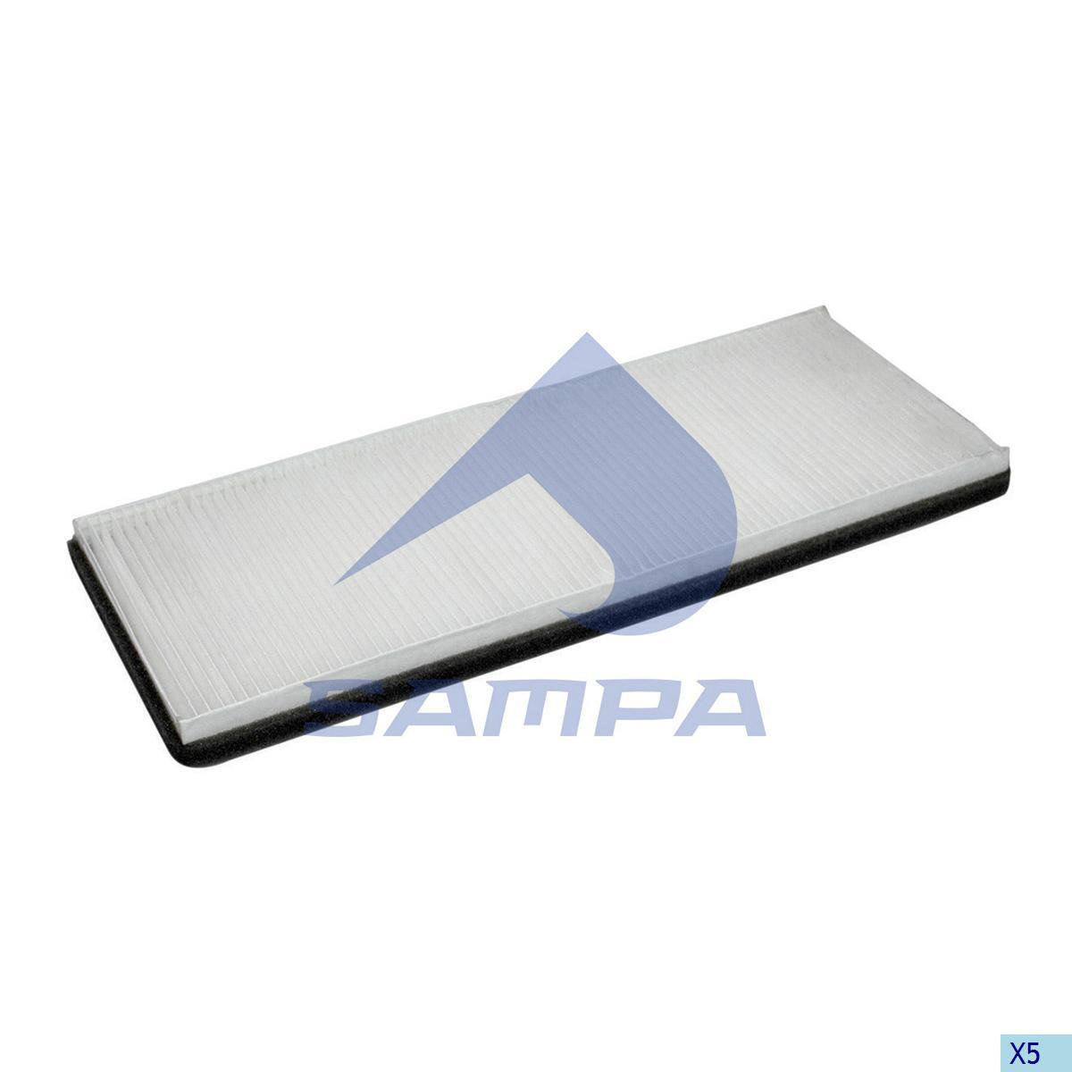 Filter, Cab Heating & Ventilation, Daf, Cab