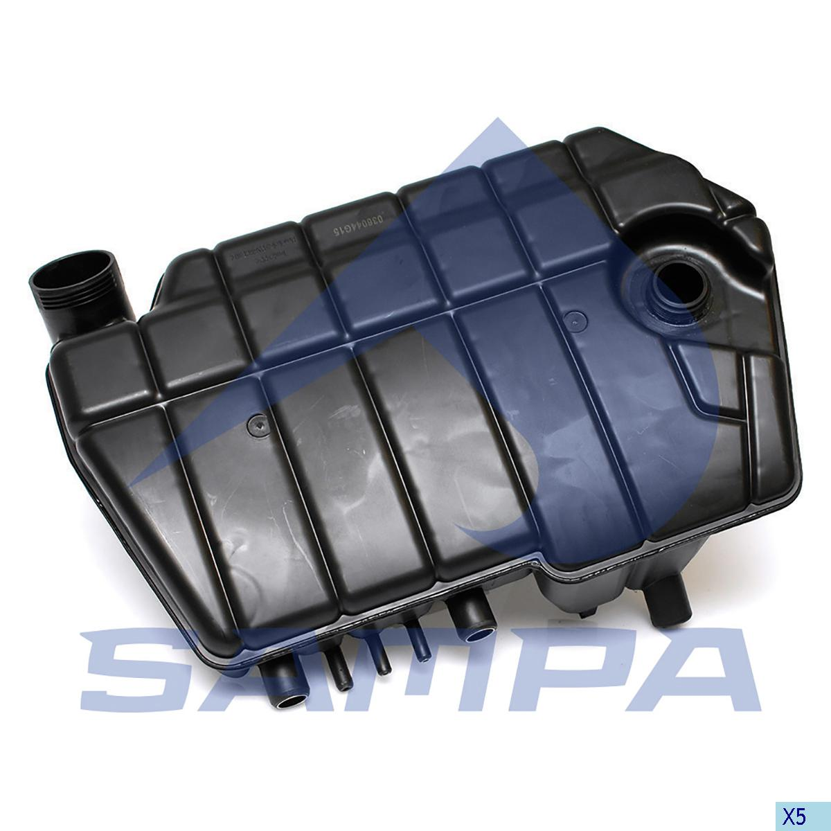 Expansion Tank, Radiator, Daf, Engine