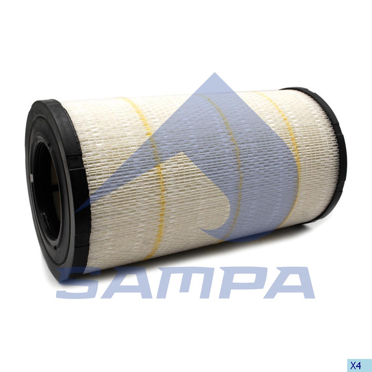 Air Filter Cartridge, Daf, Engine