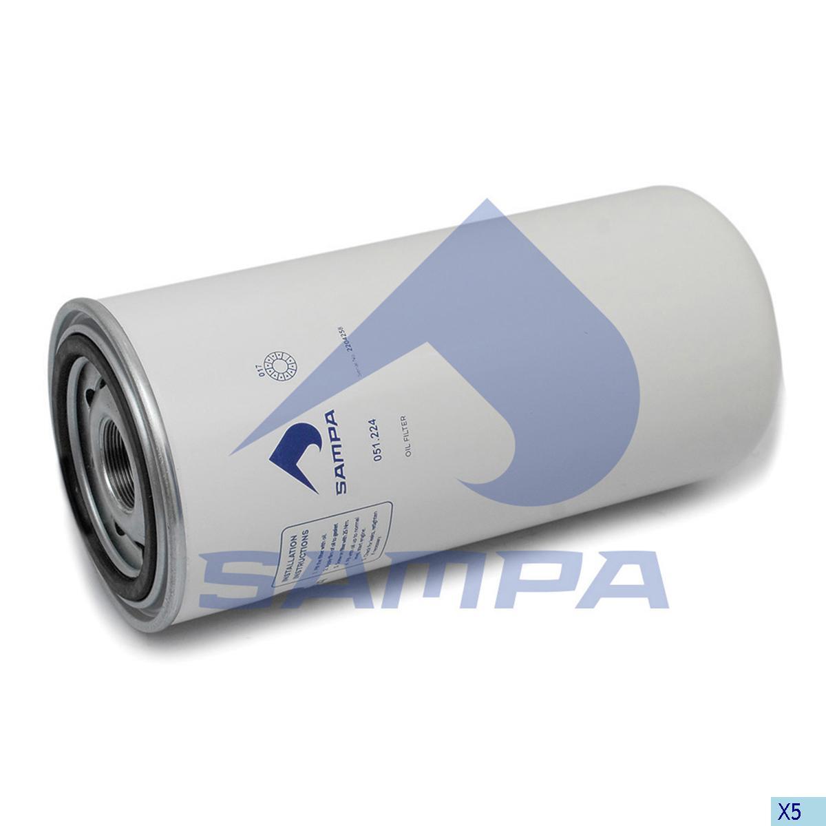 Oil Filter, Daf, Engine
