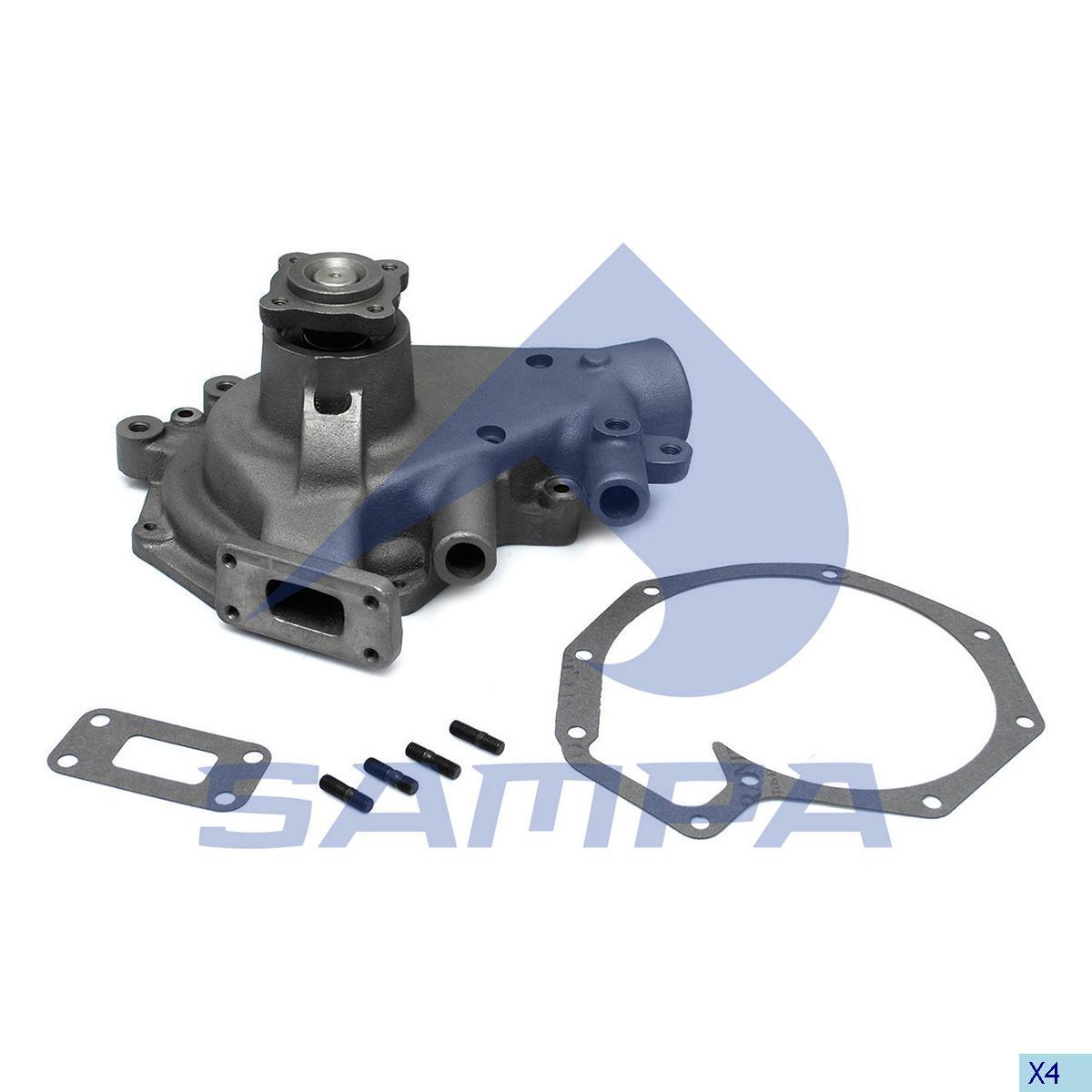 Water Pump, Daf, Engine