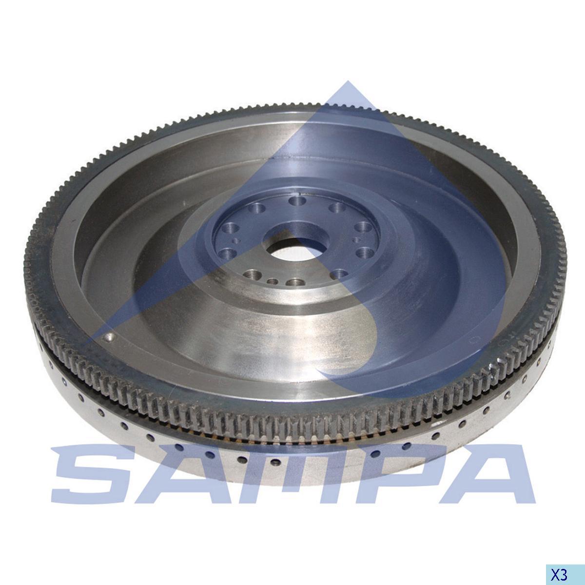 Flywheel, Daf, Engine