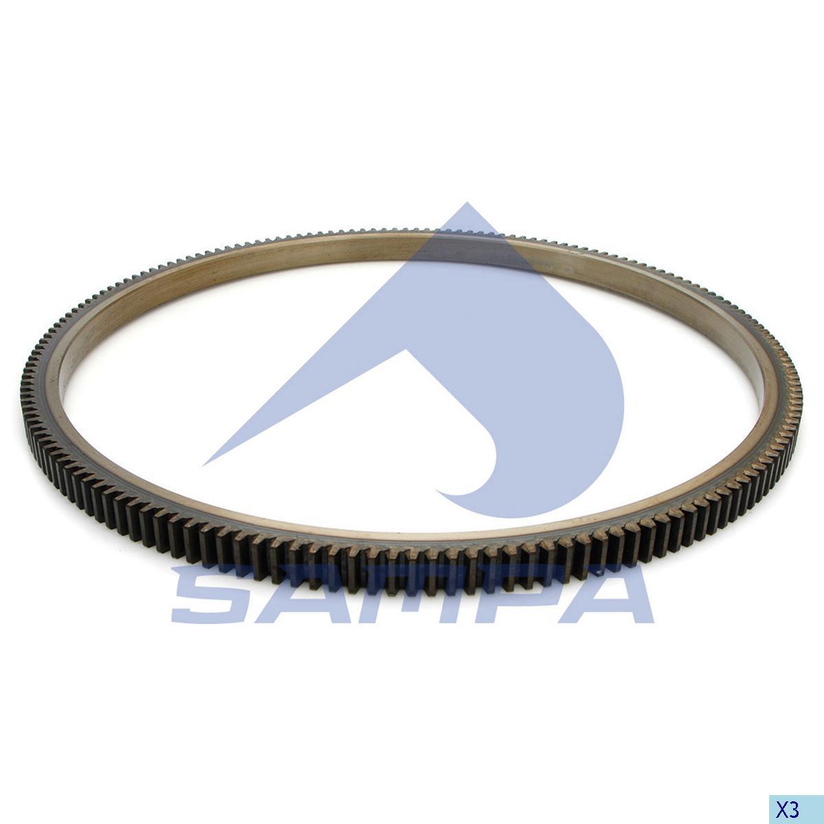 Starter Ring Gear, Daf, Engine