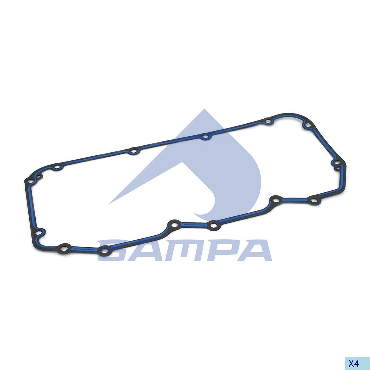 Gasket, Oil Cooler, Daf, Engine