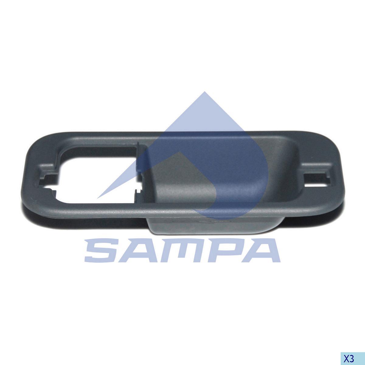 Handle Cover, Door, Daf, Cab
