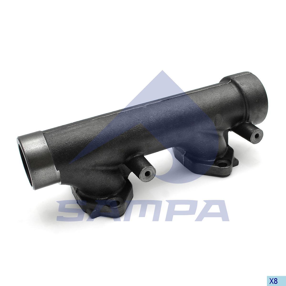 Exhaust Manifold, Daf, Engine
