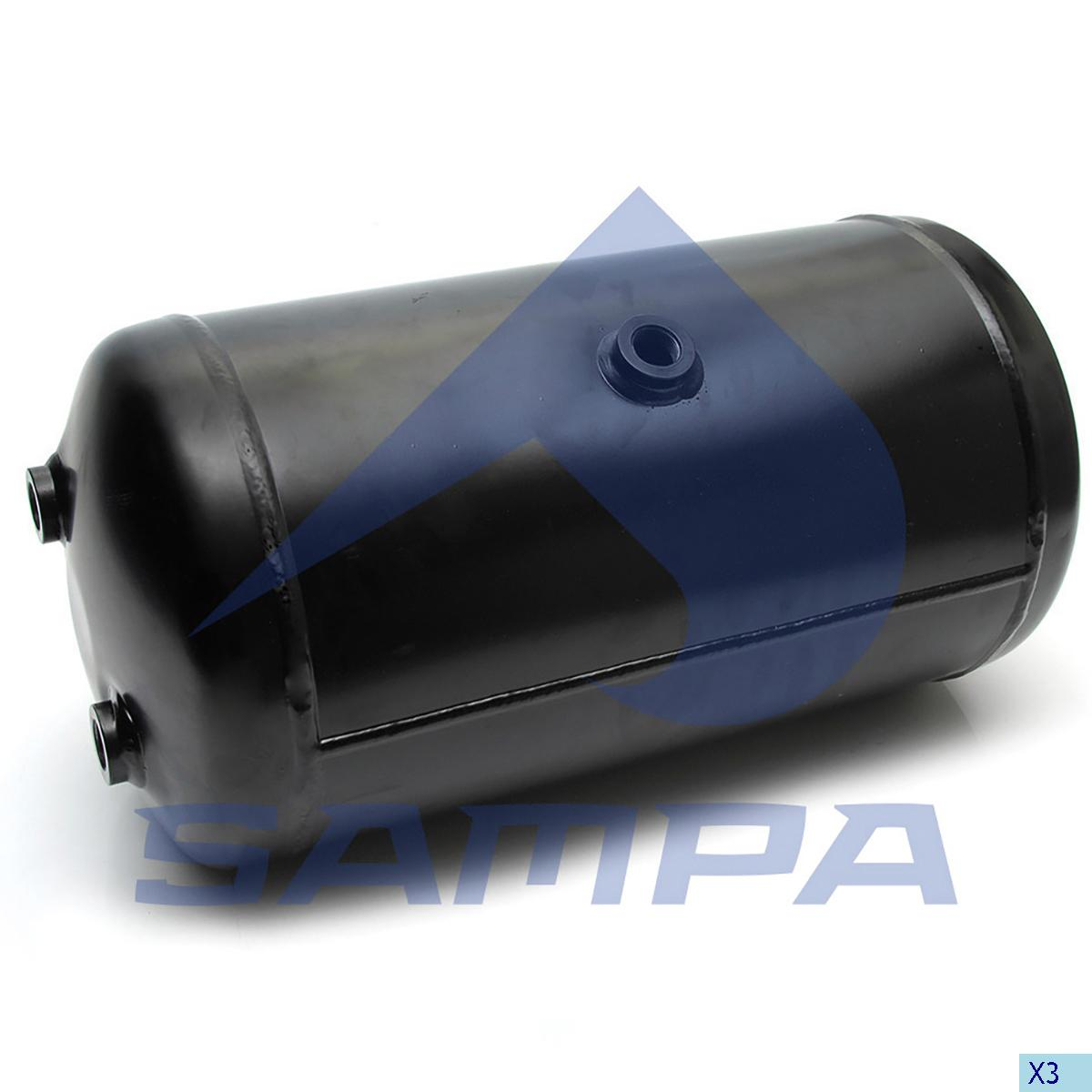 Air Tank, Iveco, Compressed Air System