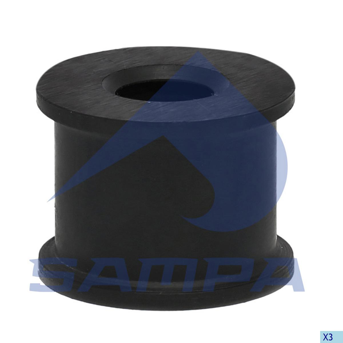 Shock Absorber Rubber Bushing, Cab, Iveco, Cab