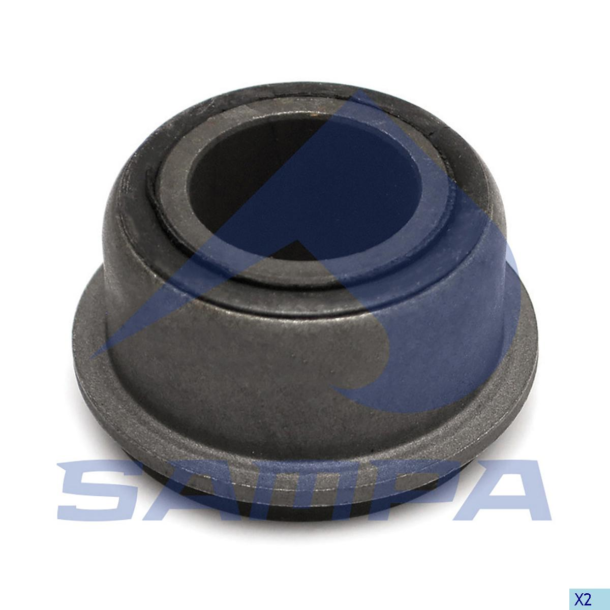 Rubber Bushing, Axle, Iveco, Power Unit