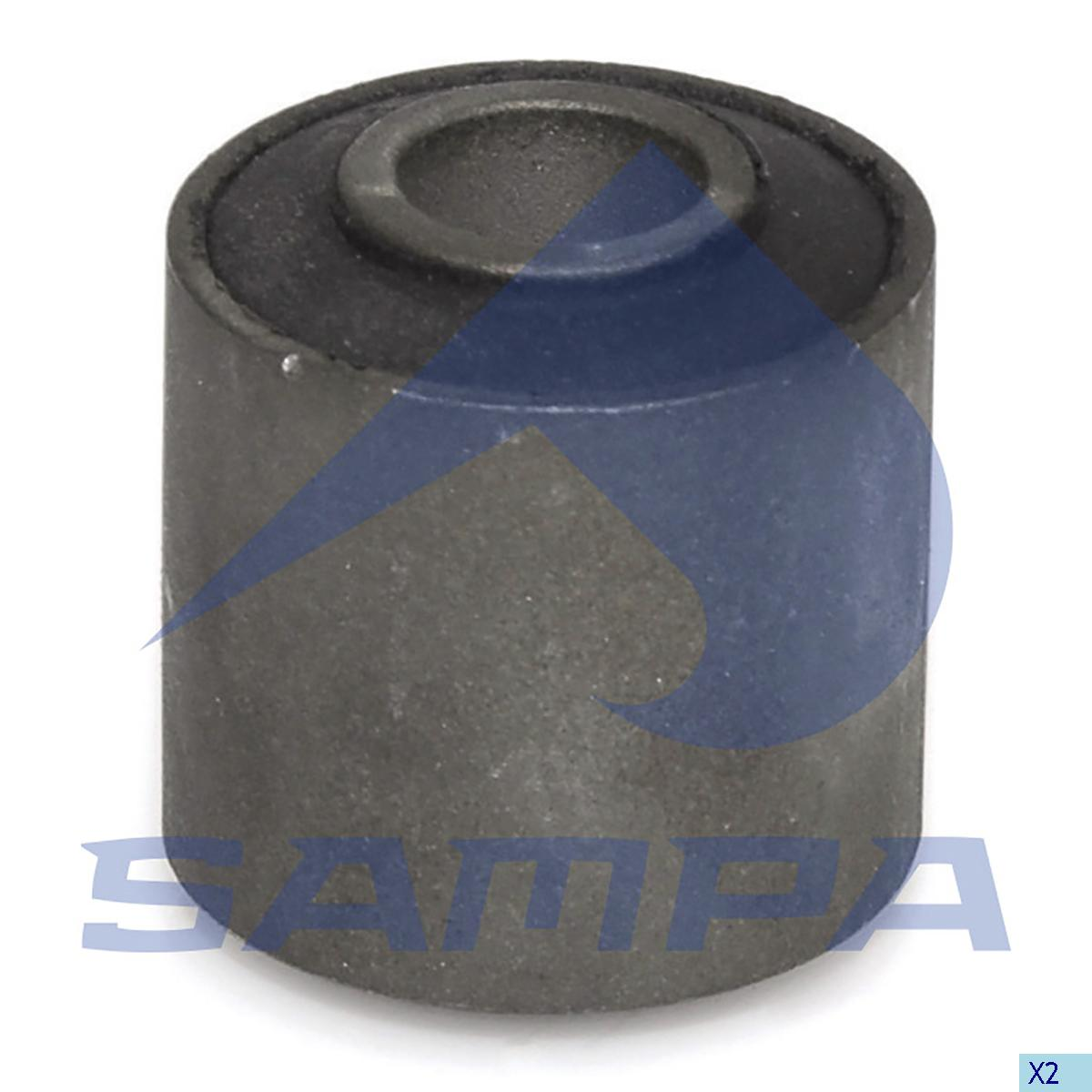 Rubber Bushing, Stabilizer Bar, Iveco, Suspension