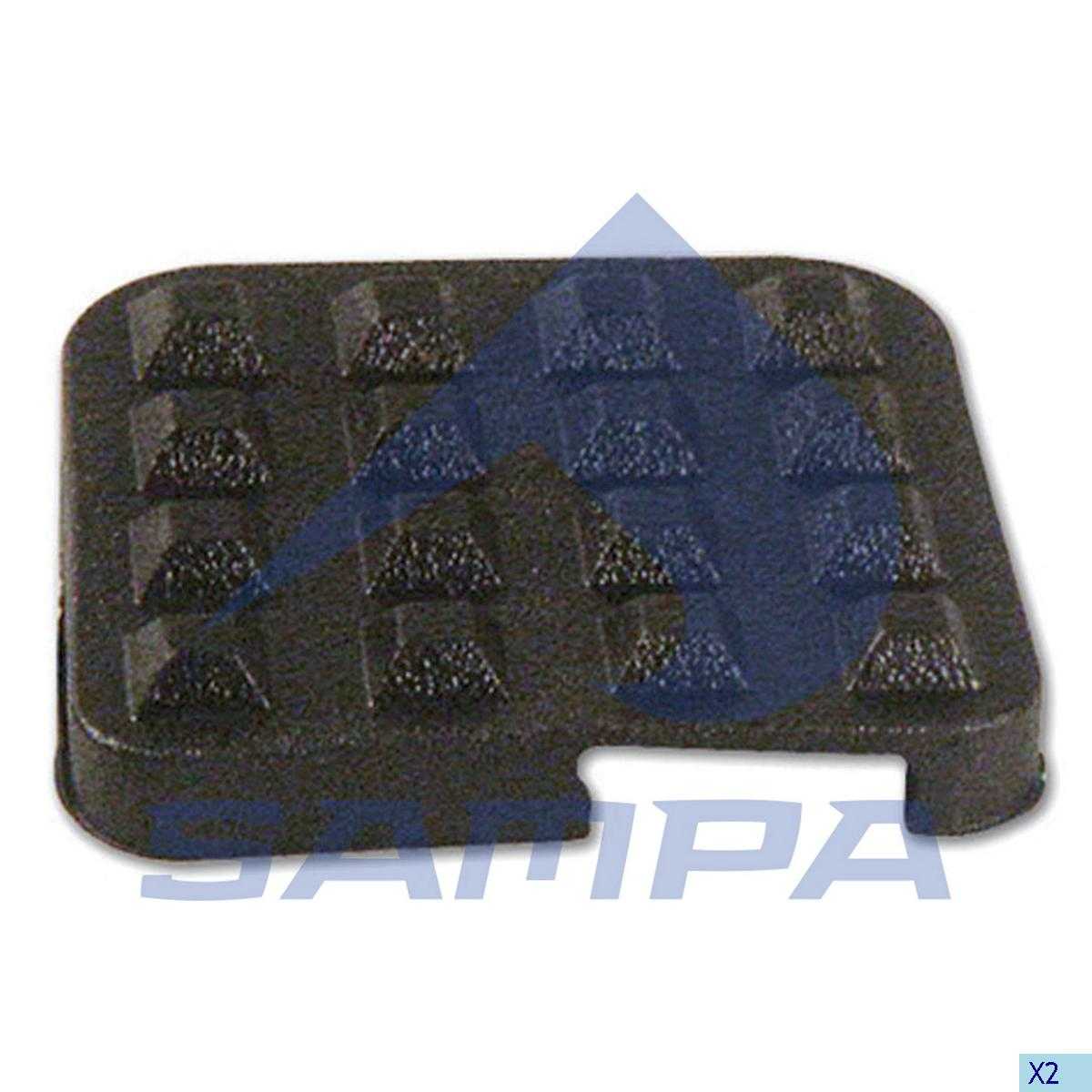 Pad, Clutch Pedal, Iveco, Clutch