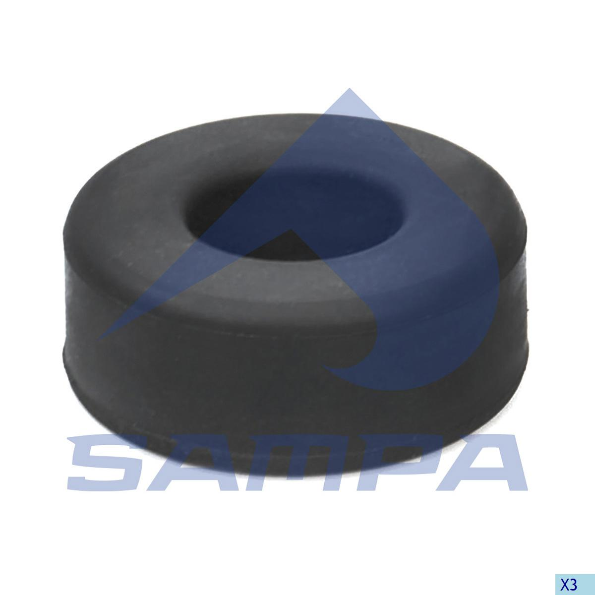 Rubber Bushing, Shock Absorber, Daf, Suspension