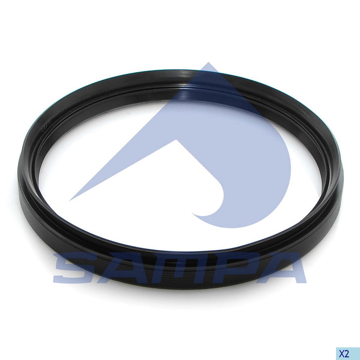 Seal Ring, Bogie Suspension, Iveco, Suspension