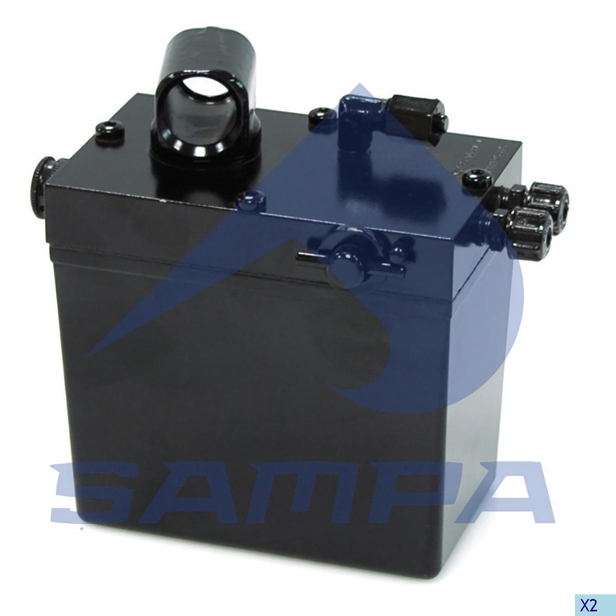 Hand Pump, Cab Tilt, Iveco, Cab