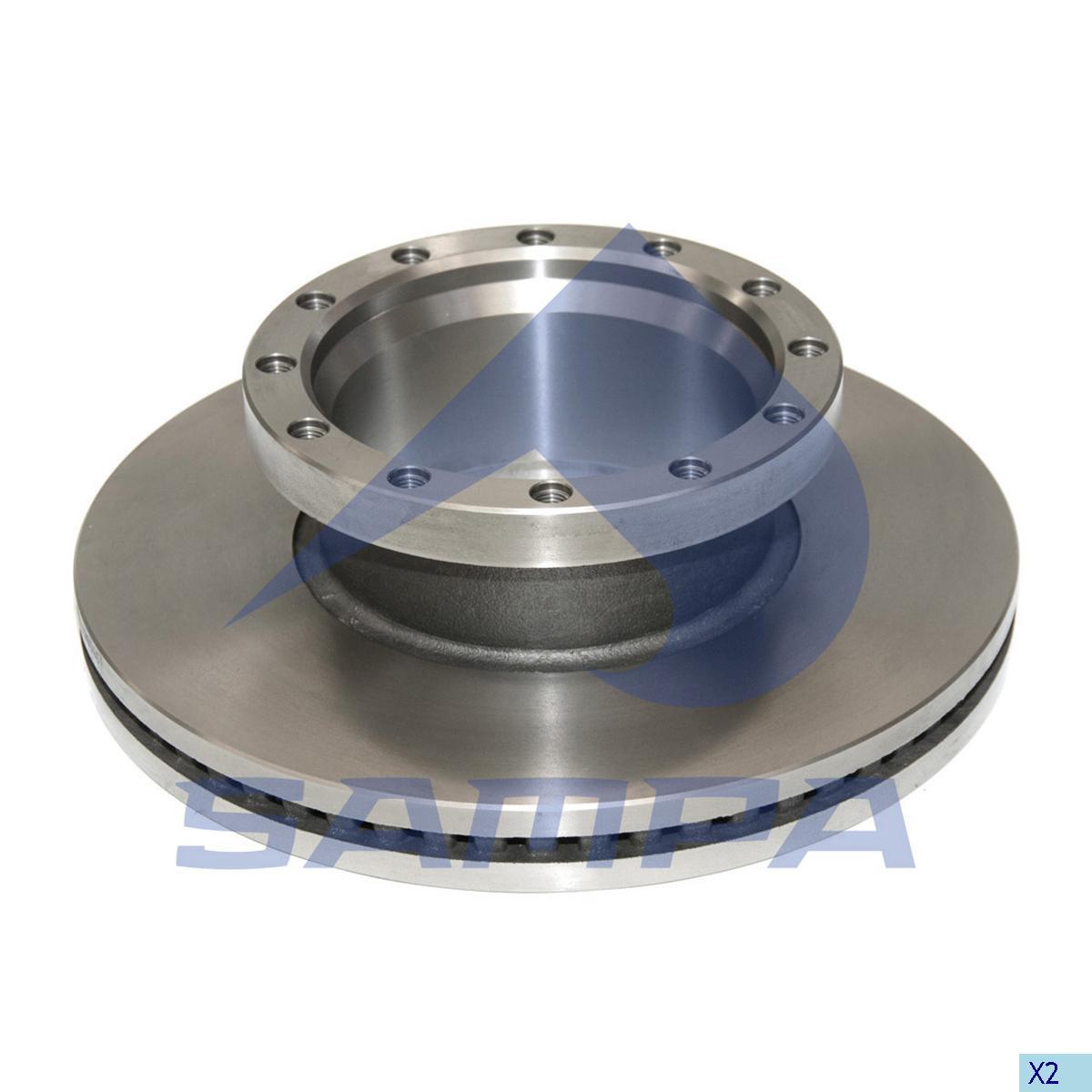 Brake Disc, Iveco, Brake