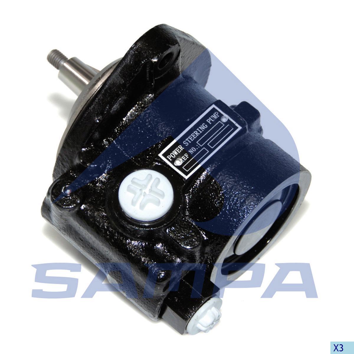 Steering Pump, Iveco, Steering