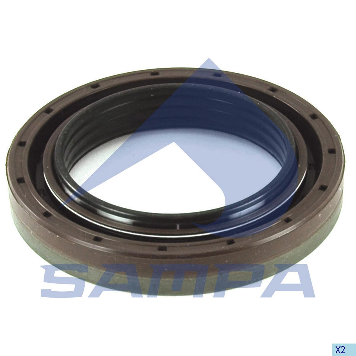 Seal Ring, Differential Gear Housing, Iveco, Power Unit
