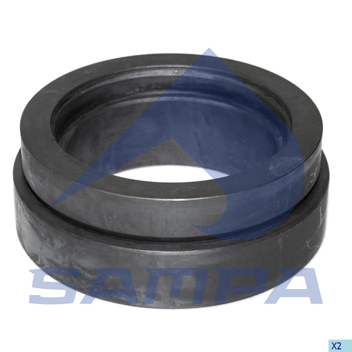 Joint Bearing, Bogie Suspension, Iveco, Suspension