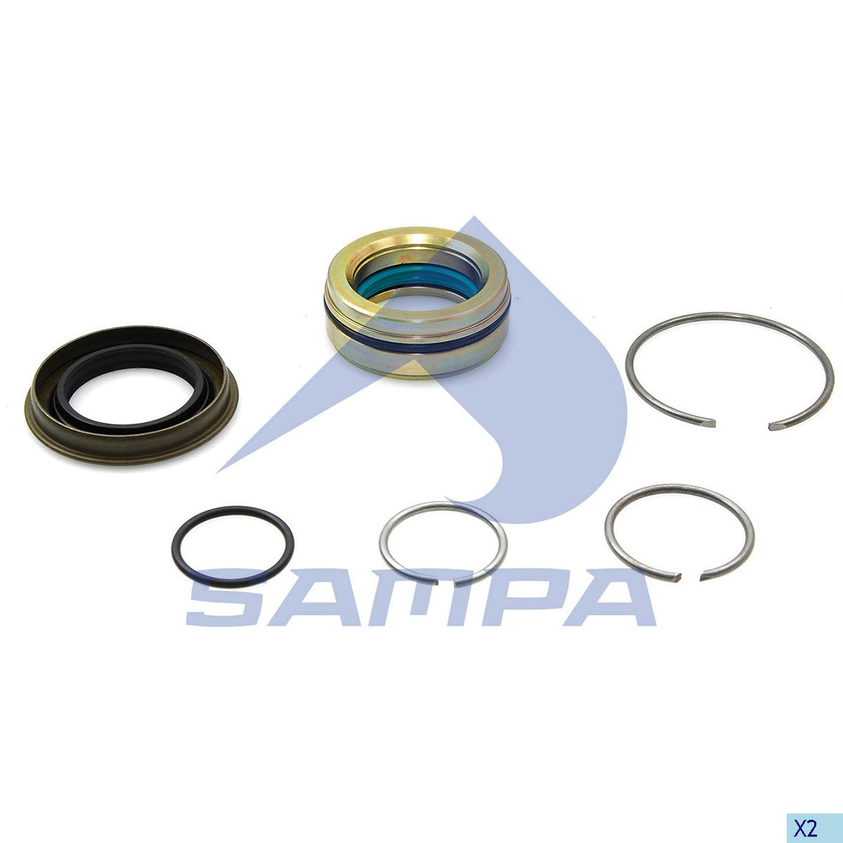 Repair Kit, Cab Tilt, Iveco, Cab
