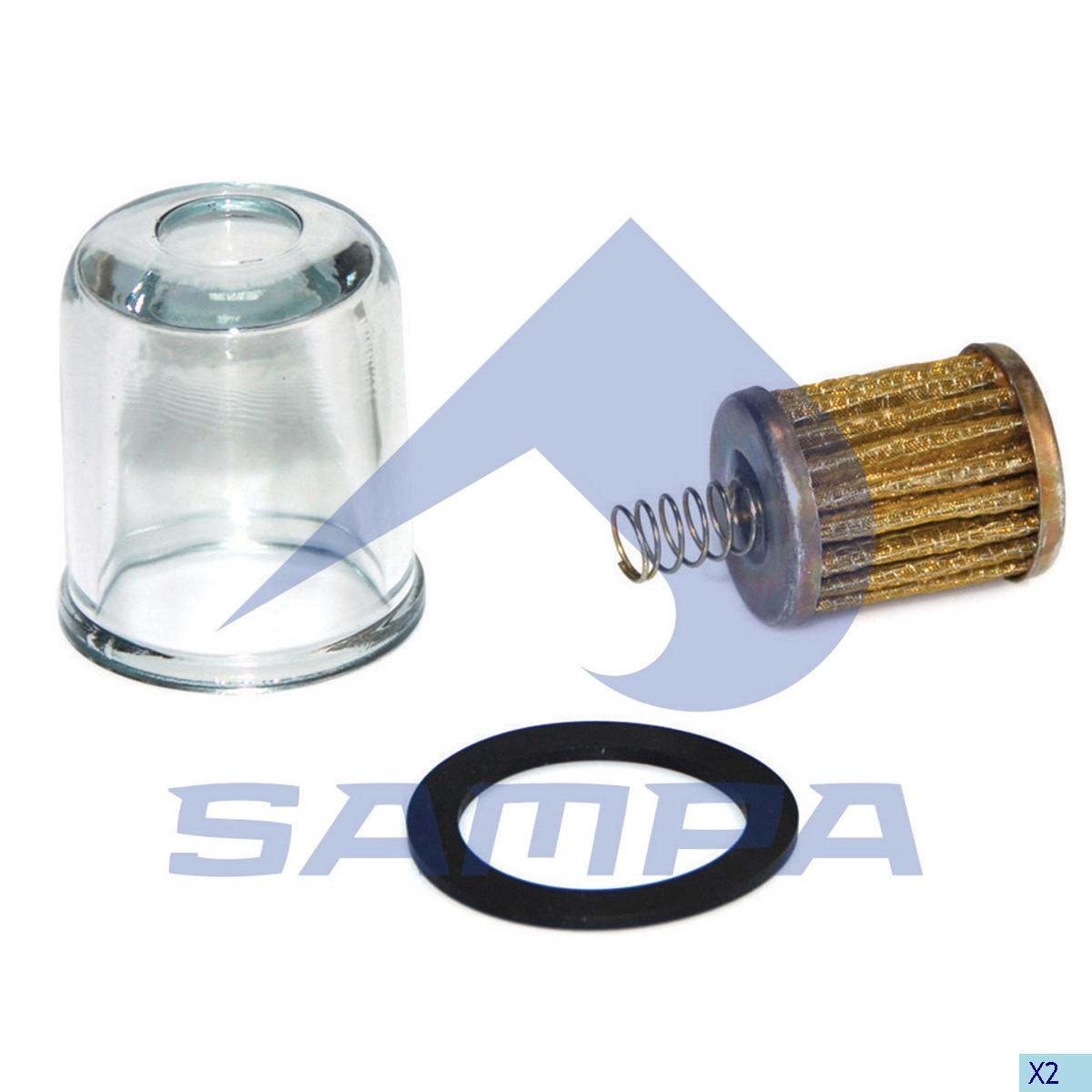 Repair Kit, Fuel Filter, Iveco, Engine