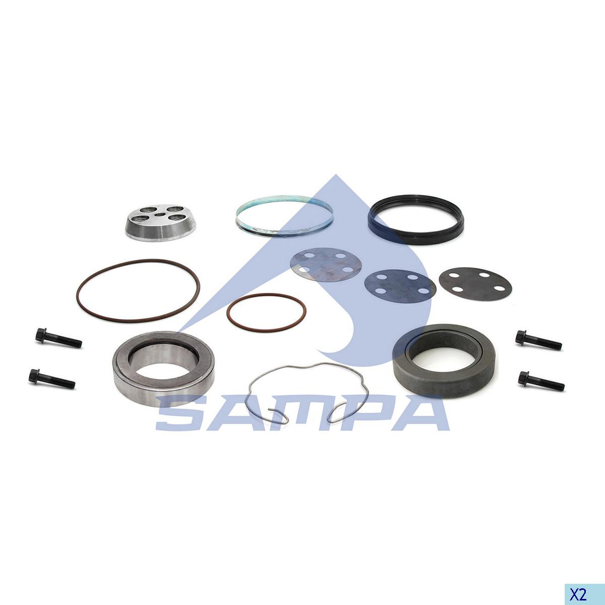 Repair Kit, Bogie Suspension, Iveco, Suspension