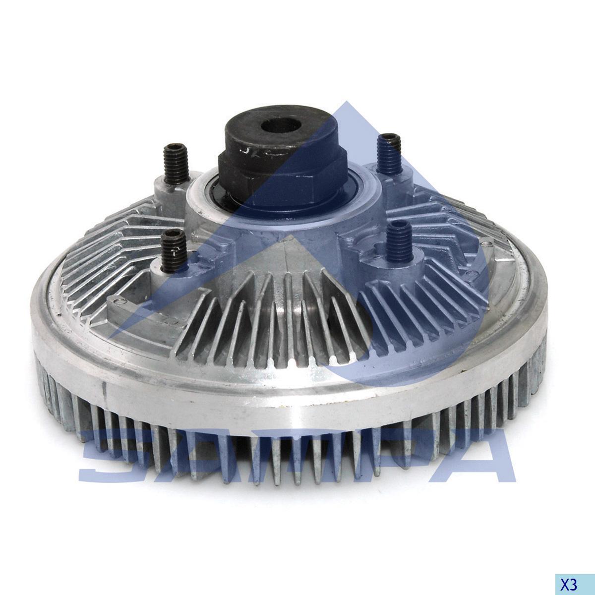 Visco Drive, Fan, Iveco, Engine