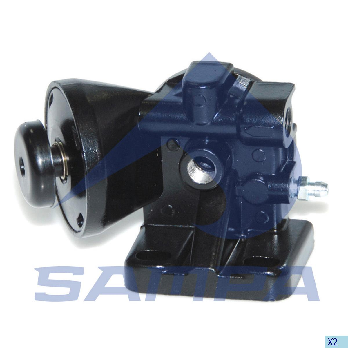 Feed Pump, Iveco, Engine