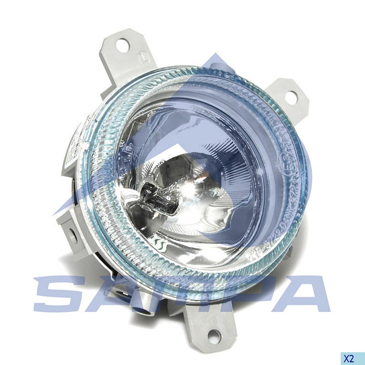 Fog Lamp, Iveco, Electric System
