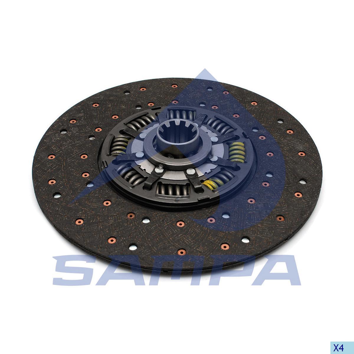 Clutch Disc, Iveco, Clutch
