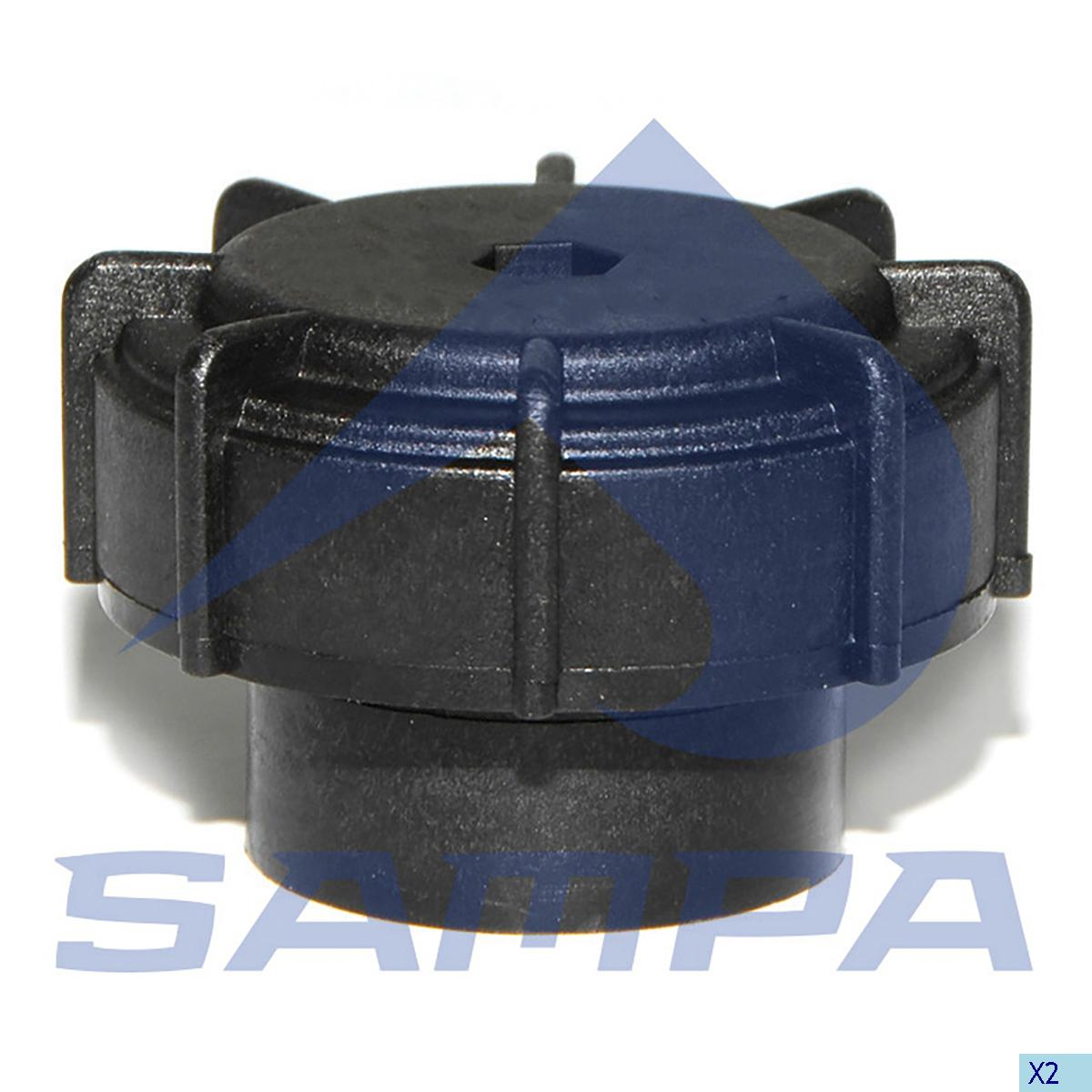 Expansion Tank Cap, Radiator, Iveco, Engine