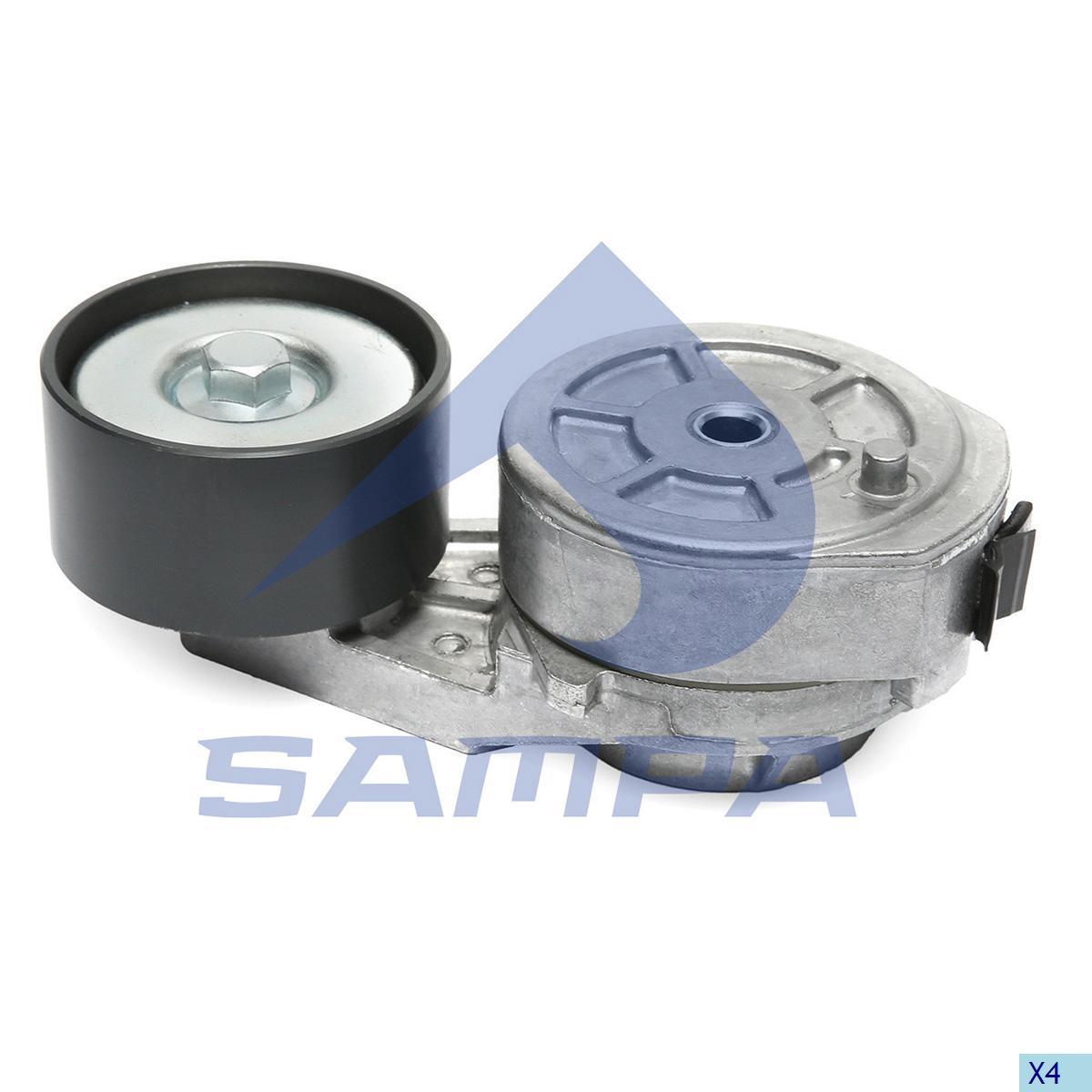 Belt Tensioner, Fan, Iveco, Engine