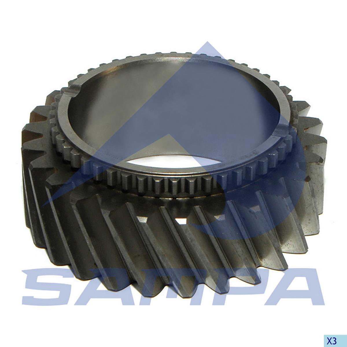 Gear, Input Shaft, Iveco, Gear Box