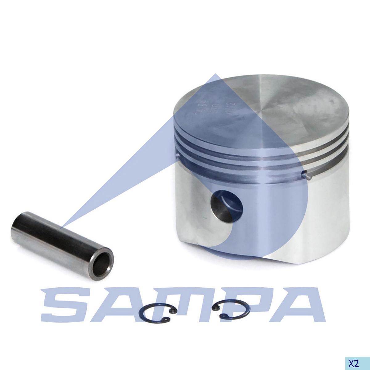 Piston, Iveco, Compressed Air System
