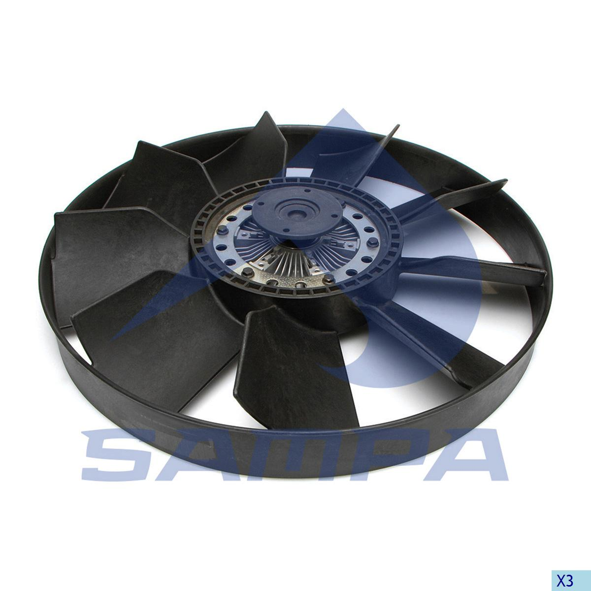 Visco Fan, Iveco, Engine