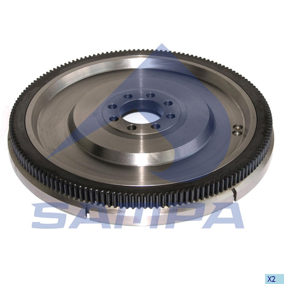 Flywheel, Iveco, Engine