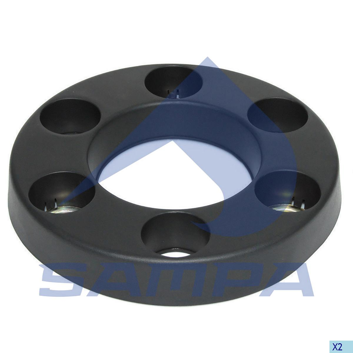 Cover, Rim, Iveco, Power Unit
