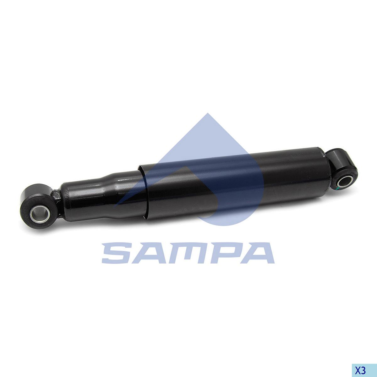 Shock Absorber, Iveco, Suspension