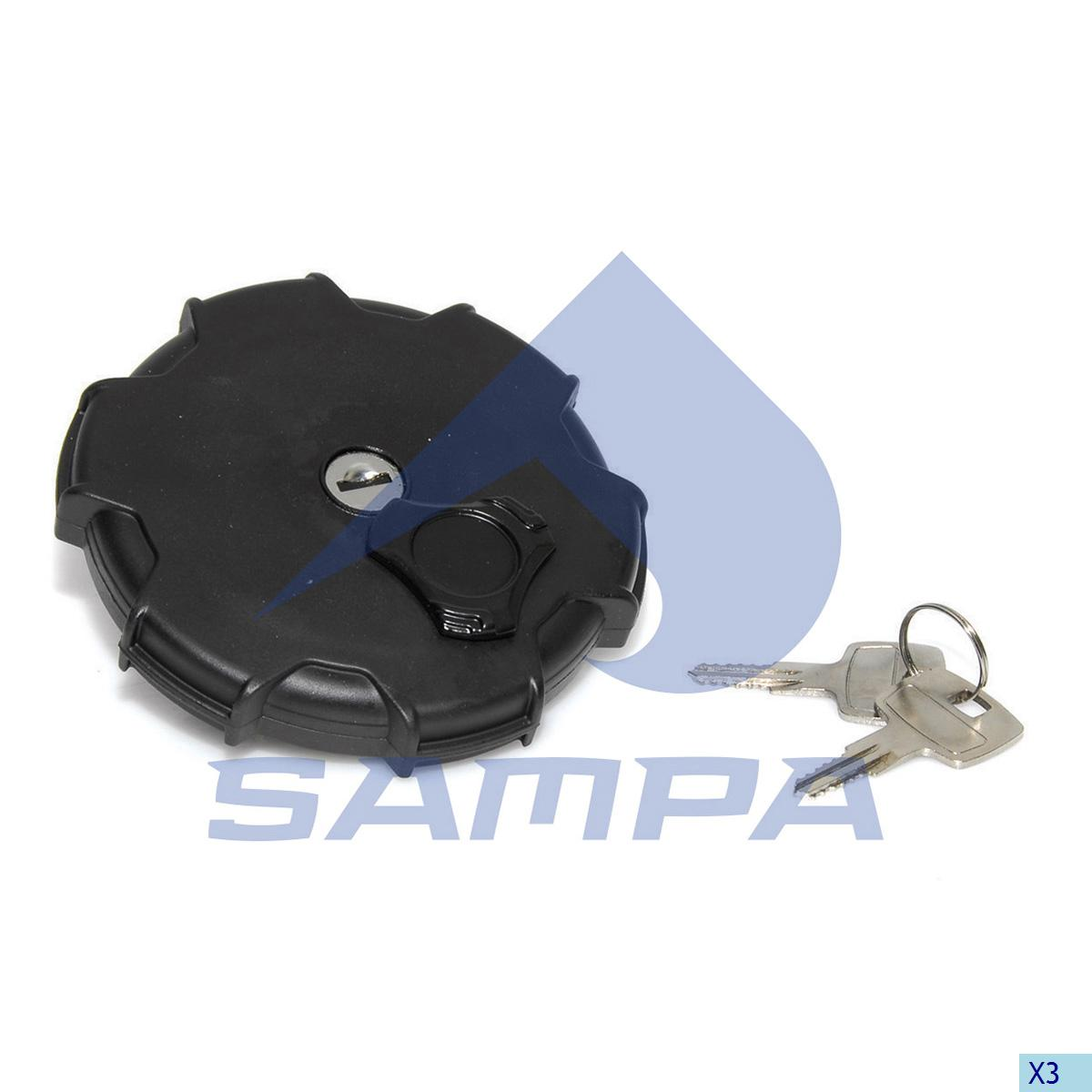 Filler Cap, Fuel Tank, Iveco, Engine